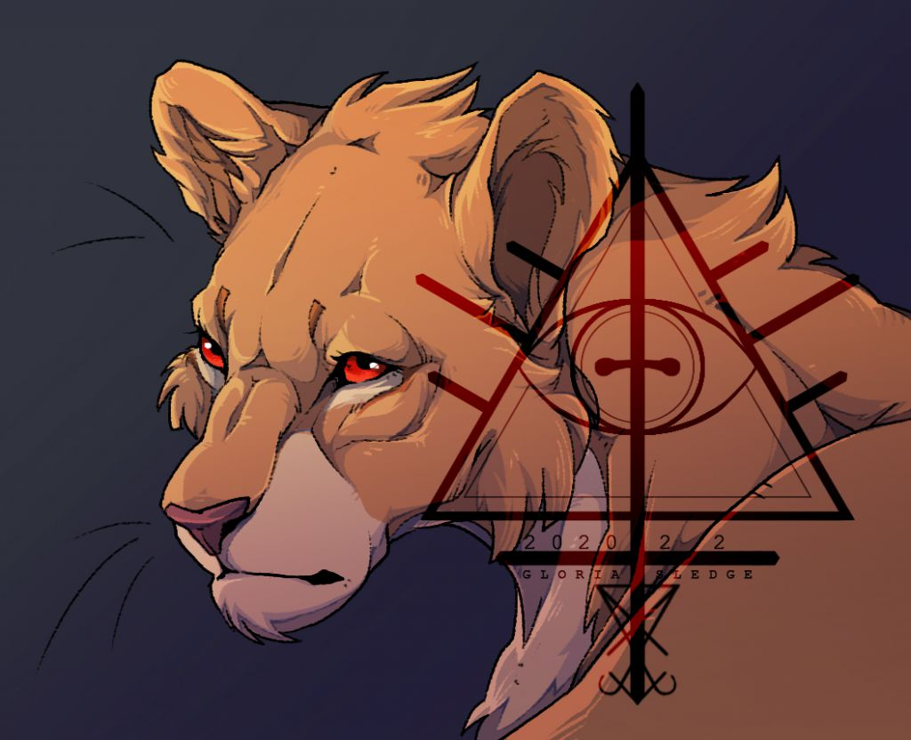 Lioness  by ScholarOfDespair, 狮子