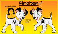 Archer Reference Sheet by Mizan