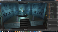 Generator room Megaman Legends Unreal 4 redux by Jellofox