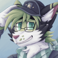 Green Calico Headshot by kstreetalley