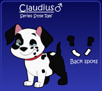 Claudius Series Reference Sheet by Mizan