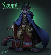 D&D Character - Skwint by Bleats