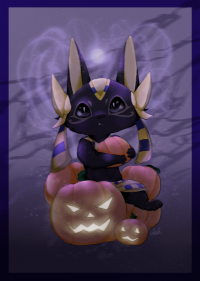 Halloween ANUBIS by 米諾